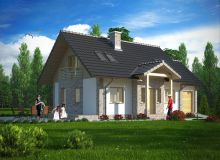 Projekt domu ZACISZE
