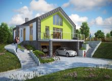 Projekt domu ROPCZYCE