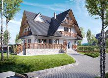 Projekt domu ZAKOPANE