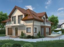 Projekt domu LILAKÓW