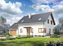 Projekt domu GERBERÓW