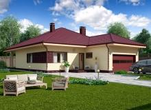 Projekt domu OSTRYŻ
