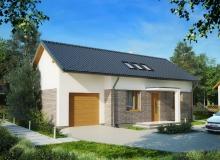 Projekt domu KOCANKA