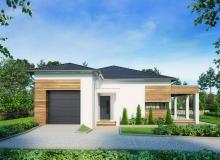 Projekt domu CZARTAWA