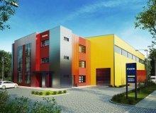 Projekt Budynek magazynowo - biurowy