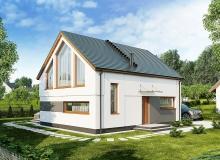 Projekt domu PRZEBIŚNIEŻYN B