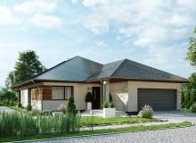 Projekt domu OSTRYŻ B