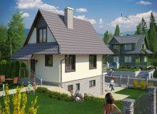 Projekt domu WIERZBIN
