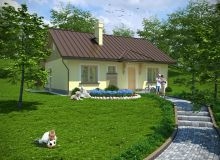 Projekt domu POLADOWO