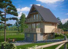 Projekt domu PRZEBOROWO