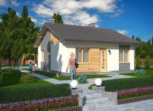 Projekt domu NABOROWO