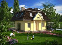 Projekt domu PRZYBYSŁAWICE