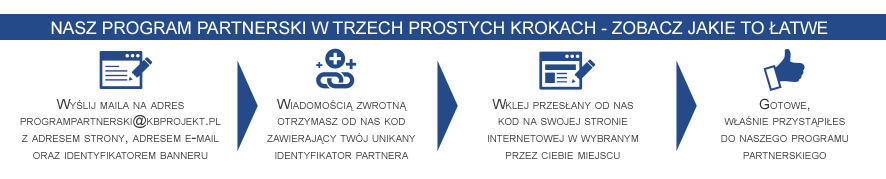 Infografika - program partnerski