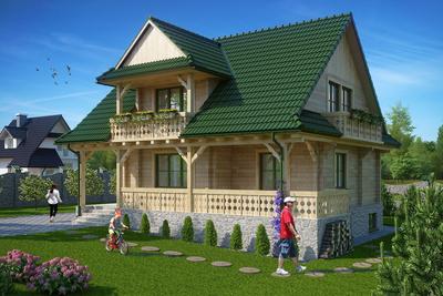 źródło: KB Projekt, projekt domu Jaworzyna