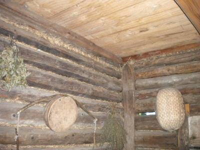 Wnętrze chaty, Skansen Wsi Pogórzańskiej, aut. KB Projekt
