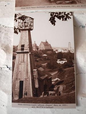 fot: Wieża wiertnicza kopalni