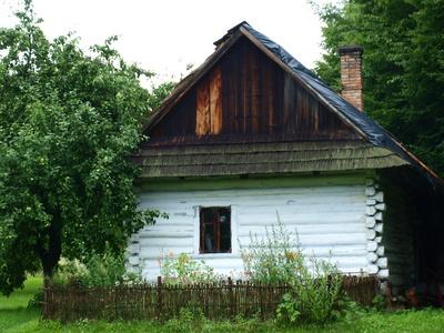 Chata wiejska, Skansen Wsi Pogórzańskiej, aut. KB Projekt